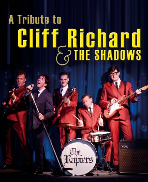 Promo shot for Cliff Richard and The Shadows Tribute show